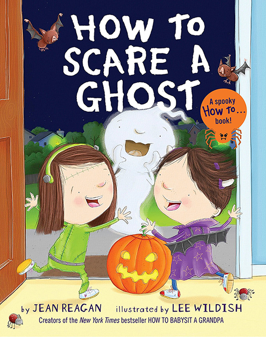 How To Scare a Ghost Book Release